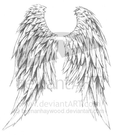 Tattoo designs angel wings free angel wings tattoos cross tattoo ...