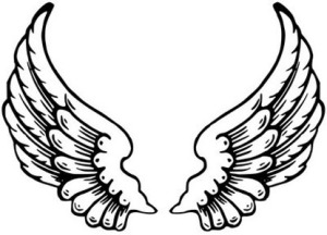 Angel Wings And Halo Tattoo Cross Tattoos Pictures